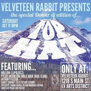 Top Hat at The Velveteen Rabbit